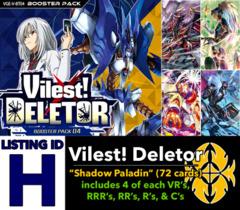 # Vilest! Deletor [V-BT04 ID (H)]