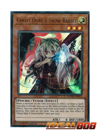 Ghost Ogre & Snow Rabbit - DUPO-EN075 - Ultra Rare - 1st Edition