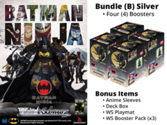 Weiss Schwarz CCS Bundle (B) Silver - Get x4 Batman Ninja Booster Boxes + FREE Bonus Items