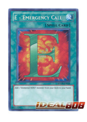 E - Emergency Call - RYMP-EN024 - Secret Rare - Unlimited Edition