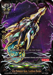 Vile Demonic Gun, Lostless Buster [S-BT02/0083EN Secret (FOIL)] English