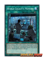 World Legacy's Memory - FLOD-ENSE3 - Super Rare - Limited Edition