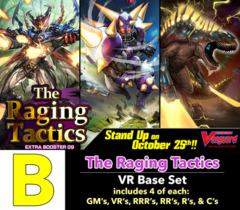 # The Raging Tactics [V-EB09 ID (B)] VR Base Set [4 of each VR's, RRR's, RR's, R's, & C's (264 cards)]