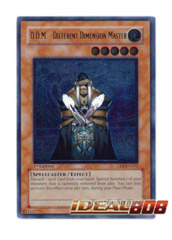 D.D.M. - Different Dimension Master - CRV-EN032 - Ultimate Rare - 1st Edition
