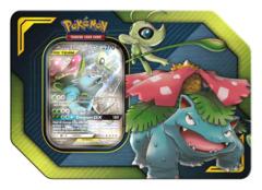 Pokemon Tag Team GX Tin - Celebi & Venusaur GX