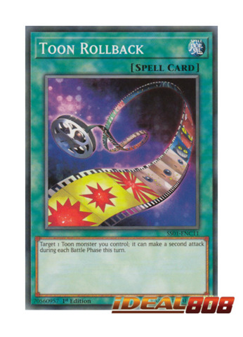 Toon Rollback - SS01-ENC11 - Common - 1st Edition