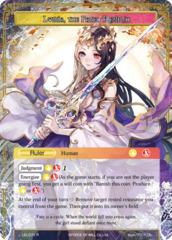 Lumia, Saint of the Crimson Lotus // Lumia, the Fated Rebirth [LEL-071 R (Uber Rare Ruler)] English