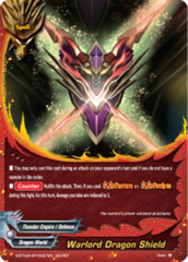 Warlord Dragon Shield [S-BT02A-SP/0027EN Secret (FOIL)] English