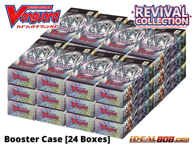 CFV-G-RC02 Revival Collection Vol.2 (English) Cardfight Vanguard G Booster  Case [24 Boxes]