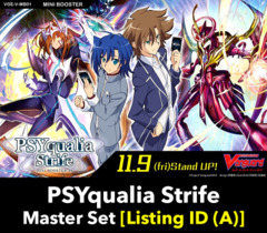 # PSYqualia Strife [V-MB01 Listing ID (A)] Master Set [Includes 4 of each Parallel and Base Cards]