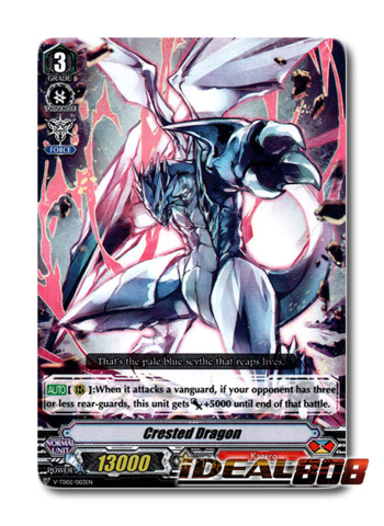 Crested Dragon - V-TD02/003EN (Regular)