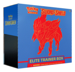 SS Sword & Shield - Base Set (SS01) Pokemon Elite Trainer Box - Zamazenta