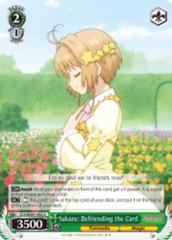 Sakura: Befriending the Card  [CCS/WX01-042 U (Regular)] English