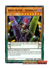Abyss Actor - Superstar - LED3-EN050 - Common - 1st Edition