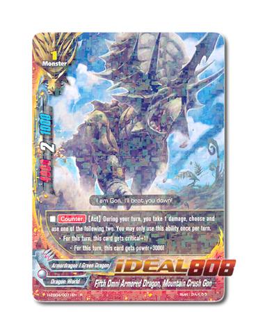 Fifth Omni Armored Dragon, Mountain Crush Gon [H-EB04/0071EN R] English