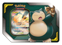 Pokemon Tag Team GX Tin - Eevee & Snorlax GX