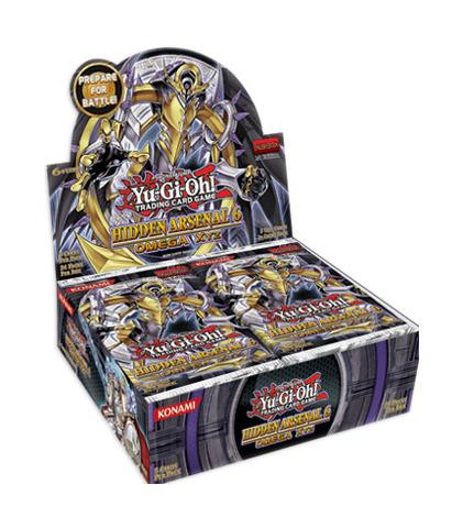 Hidden Arsenal 6: Omega Xyz Booster Box (1st Edition)