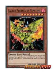 Sacred Phoenix of Nephthys - AC18-EN013 - Super Rare - 1st Edition