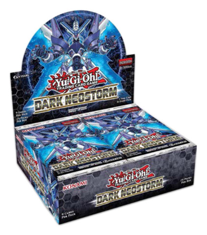 Dark Neostorm (1st Edition) Yugioh Booster Box [24 Packs]