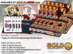 BFE-S-BT01A  Bundle (C) Gold - Get x8 Buddy Lineage Ace Alt Booster Box + FREE Bonus Items