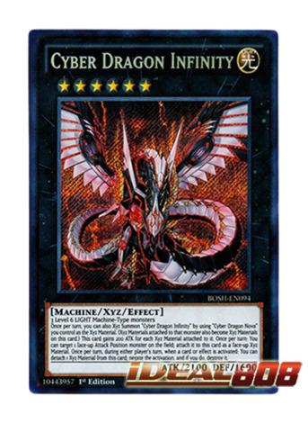 Cyber Dragon Infinity - BOSH-EN094 - Secret Rare - 1st Edition