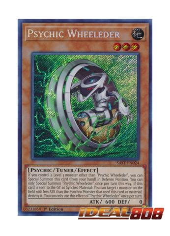 Psychic Wheeleder - SAST-EN024 - Secret Rare - 1st Edition