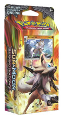 SM Sun & Moon - Burning Shadows (SM03) Pokemon Theme Deck - Lycanroc