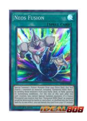 Neos Fusion - SAST-EN060 - Super Rare - 1st Edition
