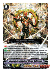 Giant Deity of Distant World, Valkerion - V-TD09/016EN (FOIL)