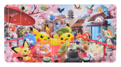 Pokemon Center Hannari Tea Party Pikachu Rubber Playmat