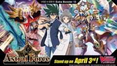 CFV-V-EB13 The Astral Force (English) Cardfight Vanguard V-Extra Booster  Case [24 Boxes] * PRE-ORDER Ships Apr.03