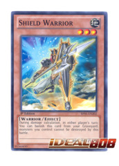 Shield Warrior - BP01-EN202 - Starfoil Rare - 1st Edition