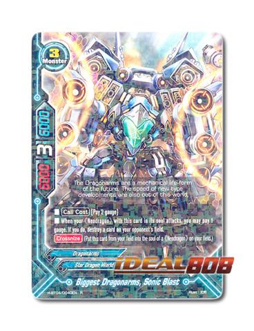 Biggest Dragonarms, Sonic Blast [H-BT04/0040EN R (FOIL)] English