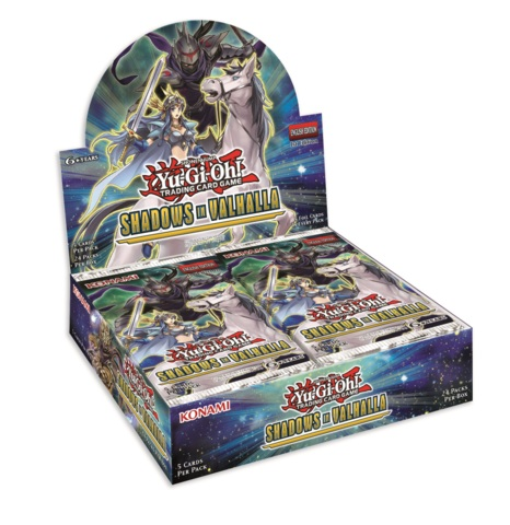 Shadows in Valhalla (1st Edition) Booster Box * Pre-Order Ships Aug.17, 2018
