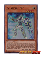 Balancer Lord - MYFI-EN047 - Super Rare - 1st Edition