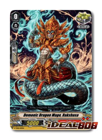 Demonic Dragon Mage, Rakshasa - V-TD02/013EN (Regular)