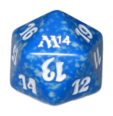 MTG Spindown 20 Life Counter - M14 Magic 2014 (Blue)