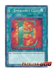 E - Emergency Call - RYMP-EN024 - Secret Rare - 1st Edition