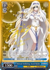 Beloved Archbishop, Sword Maiden [GBS/S63-E062SP SP (SIGNED FOIL)] English