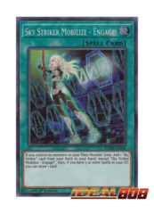 Sky Striker Mobilize - Engage! - BLHR-EN090 - Secret Rare - 1st Edition