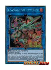 Heavymetalfoes Electrumite - MP18-EN229 - Secret Rare - 1st Edition