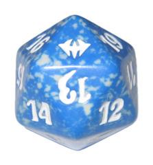 MTG Spindown 20 Life Counter - Dark Ascension (Blue)