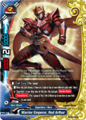 Warrior Emperor, Red Arthur [D-BT03/0046EN R (FOIL)] English