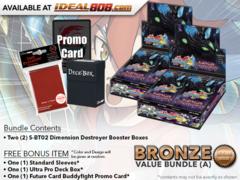 BFE-S-BT02 Bundle (A) Bronze - Get x2 Dimension Destroyer Booster Box + FREE Bonus Items * PRE-ORDER Ships Nov.2