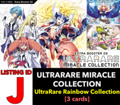 # ULTRARARE MIRACLE COLLECTION [V-EB03 ID (J)] UltraRare Rare Rainbow Collection x1 [Includes 1 of each Rainbow URR (3 cards)]