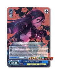 End of Fate, Kirito [SAO/SE23-E23 R (FOIL)] English
