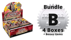Blazing Vortex [BLVO] Bundle (B) - Get 4x Booster Boxes + Bonus Items * PRE-ORDER Ships Feb.05, 2021