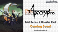 Fate/Apocrypha (English) Weiss Schwarz Trial Deck+ (Plus) * PRE-ORDER Ships Oct.12