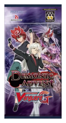 CFV-G-BT11 Demonic Advent (English) Cardfight Vanguard G-Booster Pack