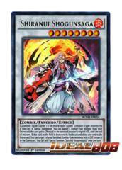 Shiranui Shogunsaga - BOSH-EN054 - Ultra Rare - 1st Edition